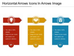 Horizontal Arrows Icons In Arrows Image
