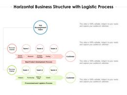 Horizontal Business Structure With Logistic Process