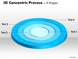 42196738 Style Cluster Concentric 4 Piece Powerpoint Template Diagram Graphic Slide