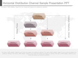 Horizontal Distribution Channel Sample Presentation Ppt