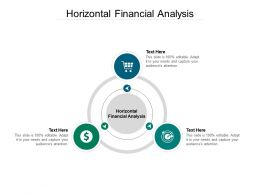 Horizontal Financial Analysis Ppt Powerpoint Presentation Layouts Information Cpb