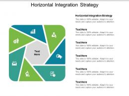 Horizontal Integration Strategy Ppt Powerpoint Presentation Layout Cpb