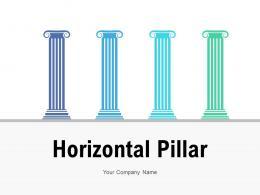 Horizontal Pillar Corporate Responsibility Organizational Growth Performance Financial
