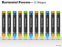 Horizontal Process 11 Stages 70