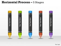 Horizontal Process 5 Stages crayons 4