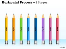 Horizontal Process 8 Stages diagrams 3