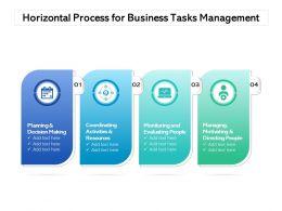 Horizontal Process For Business Tasks Management