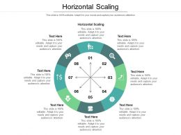 Horizontal Scaling Ppt Powerpoint Presentation Model Samples Cpb