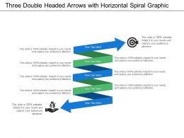 Horizontal Spiral Graphic With Years