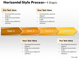 Horizontal Style 4 Stages Style 34