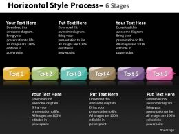 Horizontal Style 6 Stages 21