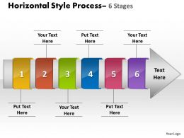 Horizontal Style 6 Stages 23