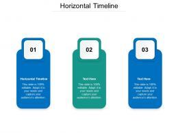 Horizontal Timeline Ppt Powerpoint Presentation Portfolio Icons Cpb
