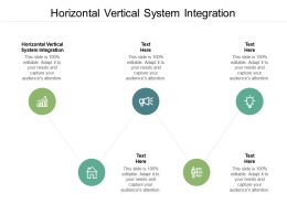 Horizontal Vertical System Integration Ppt Powerpoint Presentation Styles Summary Cpb