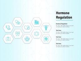 Hormone Regulation Ppt Powerpoint Presentation Summary Example
