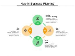 Hoshin Business Planning Ppt Powerpoint Presentation Ideas Deck Cpb