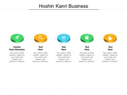 Hoshin Kanri Business Ppt Powerpoint Presentation Ideas Template Cpb