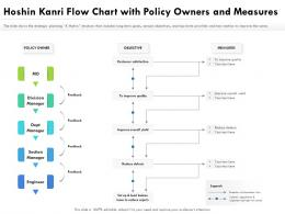 Hoshin Kanri Flow Chart With Policy Owners And Measures
