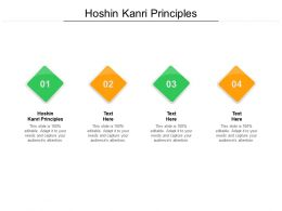 Hoshin Kanri Principles Ppt Powerpoint Presentation Gallery Examples Cpb