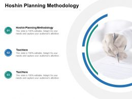 Hoshin Planning Methodology Ppt Powerpoint Presentation Infographics Graphics Example Cpb