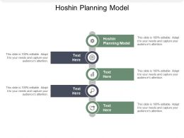 Hoshin Planning Model Ppt Powerpoint Presentation Gallery Objects Cpb