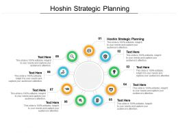 Hoshin Strategic Planning Ppt Powerpoint Presentation Gallery Show Cpb