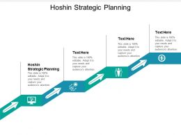 Hoshin Strategic Planning Ppt Powerpoint Presentation Infographic Template Mockup Cpb