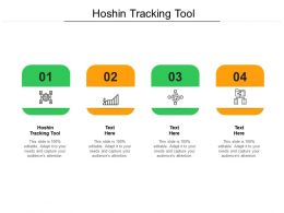 Hoshin Tracking Tool Ppt Powerpoint Presentation File Layouts Cpb