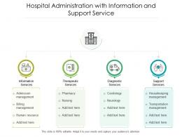 Hospital Administration With Information And Support Service