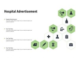 Hospital Advertisement Ppt Powerpoint Presentation Summary Format Ideas