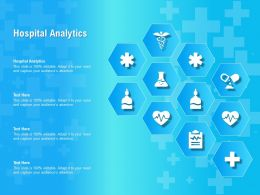Hospital Analytics Ppt Powerpoint Presentation Professional Deck