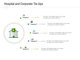 Hospital And Corporate Tie Ups Hospital Administration Ppt Pictures Graphics Tutorials