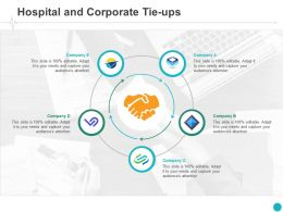 Hospital And Corporate Tie Ups Strategy Ppt Powerpoint Presentation Ideas Graphics