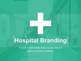 Hospital Branding Icon Powerpoint Graphics