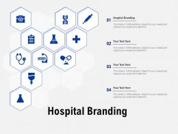 Hospital Branding Ppt Powerpoint Presentation Pictures Background Designs