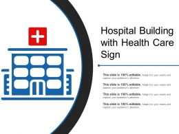 Hospital Building With Health Care Sign