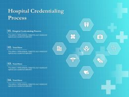 Hospital Credentialing Process Ppt Powerpoint Presentation Outline Example File