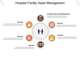Hospital Facility Asset Management Ppt Powerpoint Presentation Diagram Images Cpb