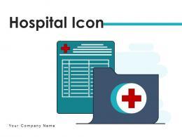 Hospital Icon Location Square Various Arrow Prescription