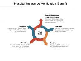 Hospital Insurance Verification Benefit Ppt Powerpoint Presentation Visual Aids Styles Cpb