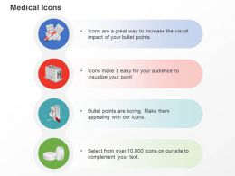 Hospital Medicine Search Tablet Ppt Icons Graphics