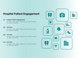 Hospital Patient Engagement Ppt Powerpoint Presentation Infographics Example