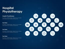 Hospital Physiotherapy Ppt Powerpoint Presentation Outline Design Ideas