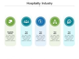 Hospitality Industry Ppt Powerpoint Presentation Pictures Cpb