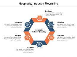 Hospitality Industry Recruiting Ppt Powerpoint Presentation Infographic Cpb