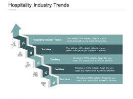 Hospitality Industry Trends Ppt Powerpoint Presentation Template Icons Cpb