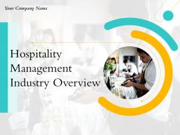 Hospitality Management Industry Overview Powerpoint Presentation Slides