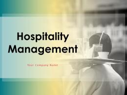 Hospitality Management Powerpoint Presentation Slides