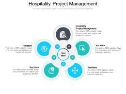 Hospitality Project Management Ppt Powerpoint Presentation Icon Portfolio Cpb