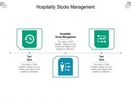 Hospitality Stocks Management Ppt Powerpoint Presentation Infographics Grid Cpb